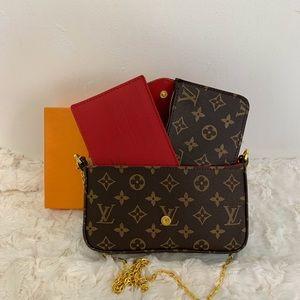 Louis Vuitton 8.5 x 5 x 2